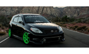 SEMA 2013 -  TEAM Hybrid 2004  Toyota Matrix