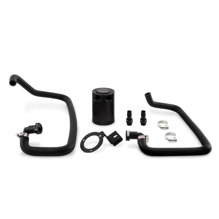 Baffled Oil Catch Can, PCV Side, fits Ford Mustang EcoBoost 2015+