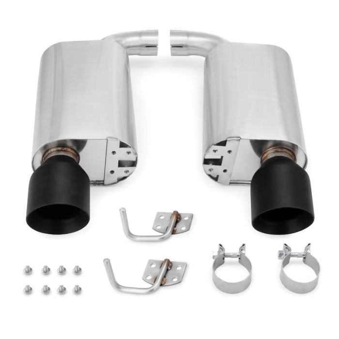 Street Axleback Exhaust, fits Ford Mustang GT 2015–2017