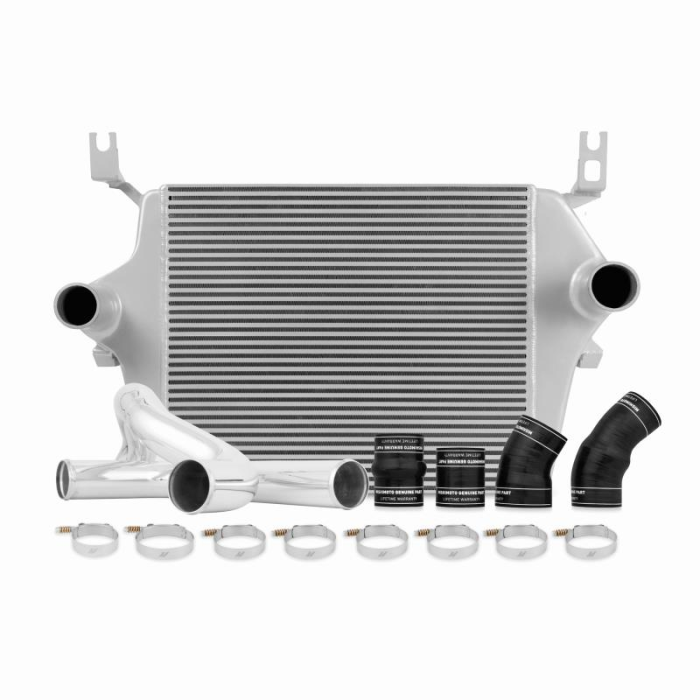 Mishimoto MMICP-F2D-03CBK Intercooler Pipe Kit Compatible With Ford 6.0 Powerstroke 2003-2007 Black