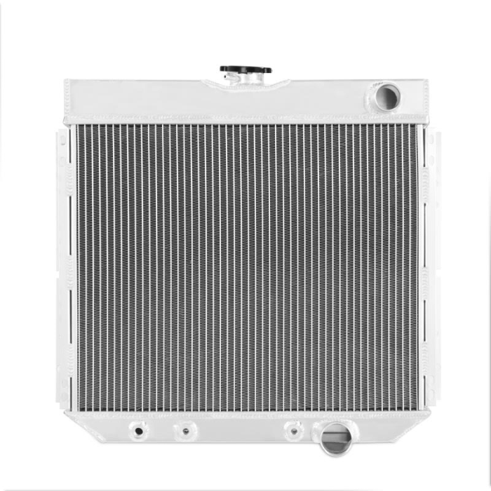 3-Row Performance Aluminum Radiator, fits Ford Mustang 1967–1969