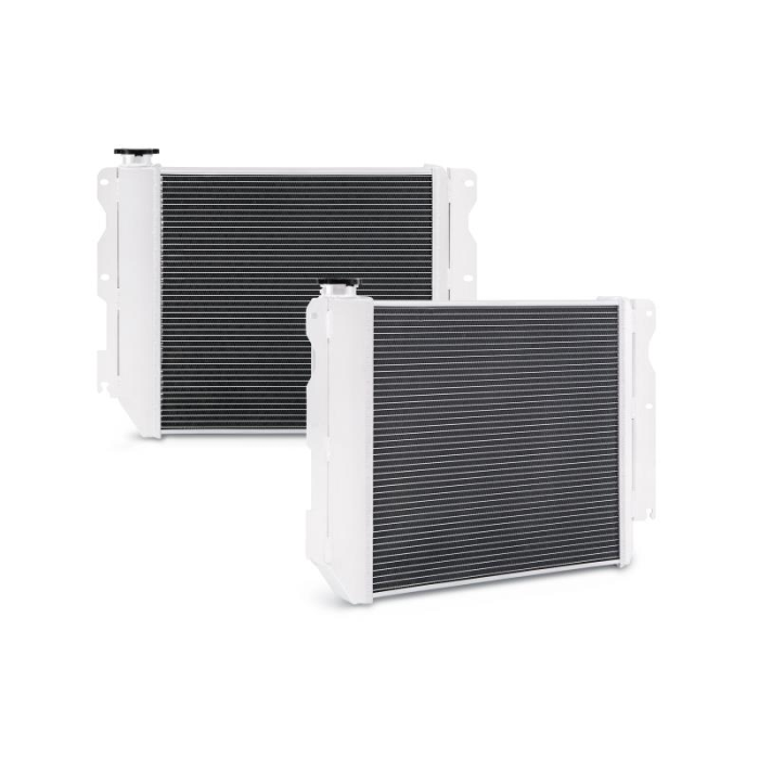 Aluminum Performance Radiator, fits Jeep Wrangler YJ & TJ with Chevrolet V8 LS Engine Swap 1987–2004