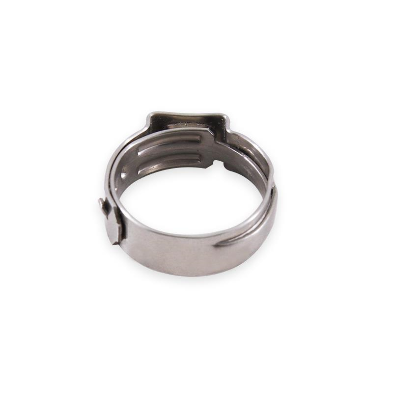 "Mishimoto Stainless Steel Ear Clamp, 0.70"" – 0.83"" (17.8mm – 21mm)"