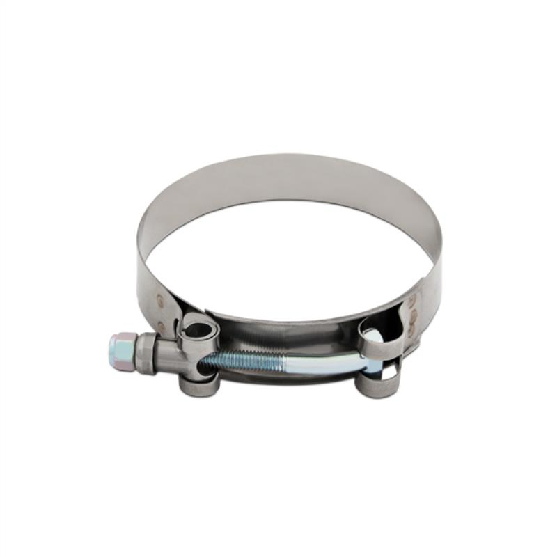 "Mishimoto Stainless Steel T-Bolt Clamp, 3.38"" – 3.70"" (86mm – 94mm)"