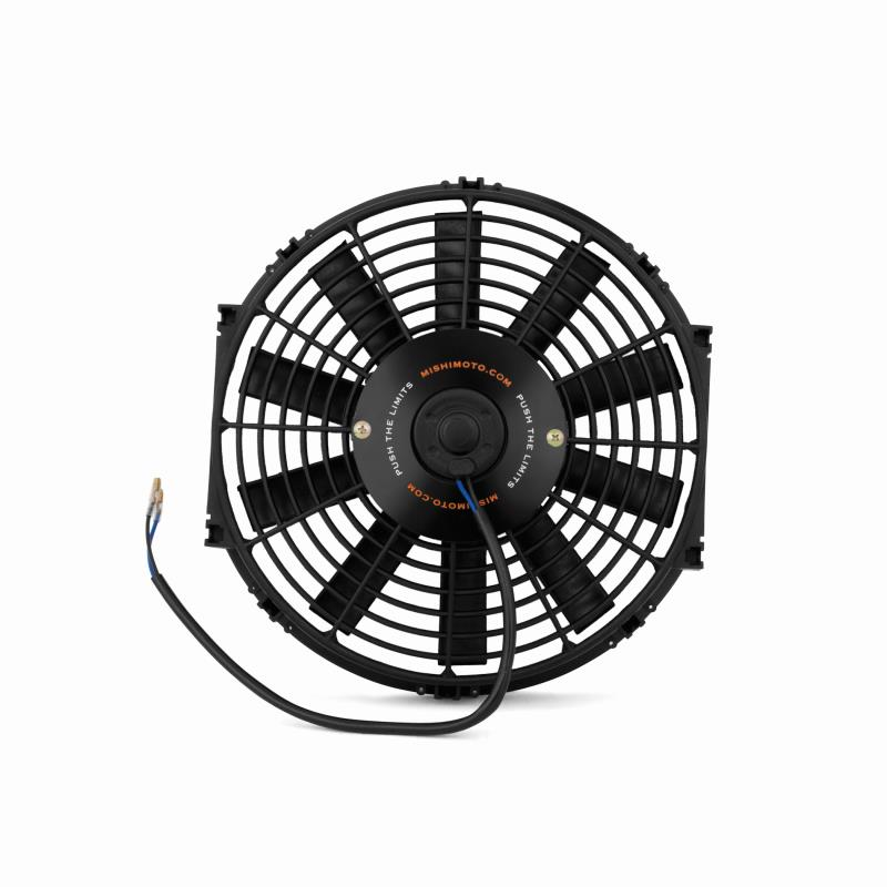 """Black 12/"""" Inch Slim Fan Radiator Push Pull Thin Electric Cooling 12V For Nissan"""