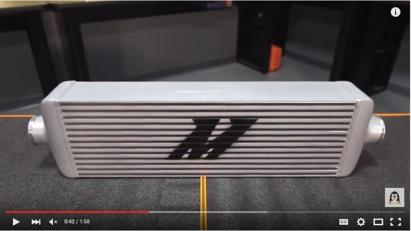 Mishimoto Universal J Line Intercooler Features Amp Benefits