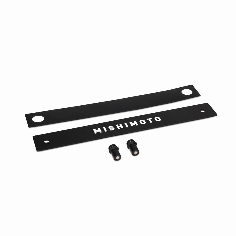 Mishimoto License Plate Delete, Black