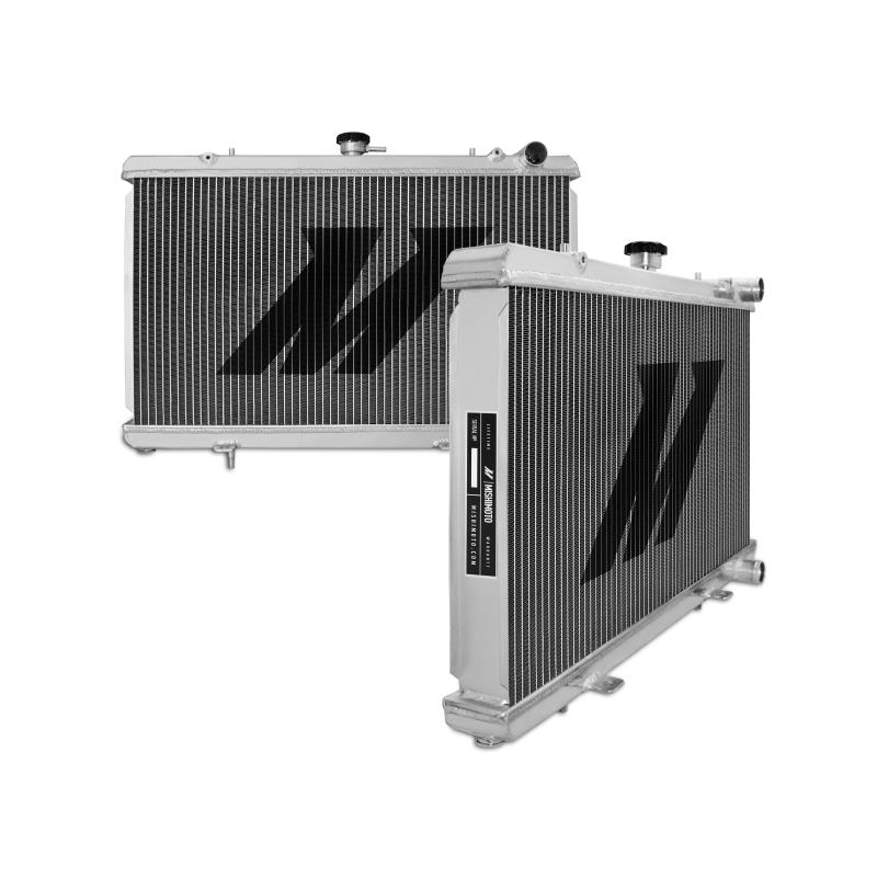 "Mishimoto 19.6"" x 26.3"" Single Pass 2-Row Race Aluminum Radiator"