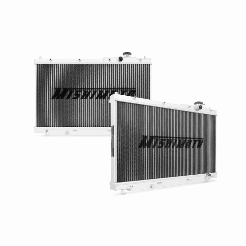 "Mishimoto 17.9"" x 26.9"" Single Pass 2-Row Race Aluminum Radiator"