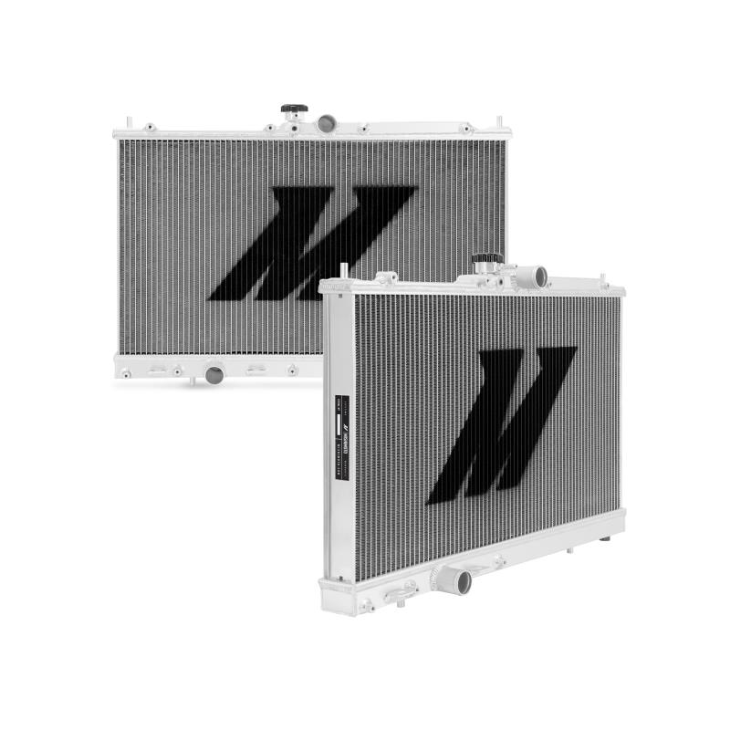 "Mishimoto 19.5"" x 28.2"" Single Pass 2-Row Race Aluminum Radiator"