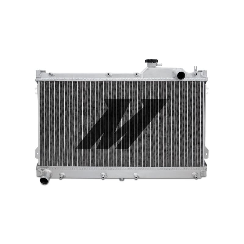 "Mishimoto 18.0"" x 27.8"" Single Pass 2-Row Race Aluminum Radiator"