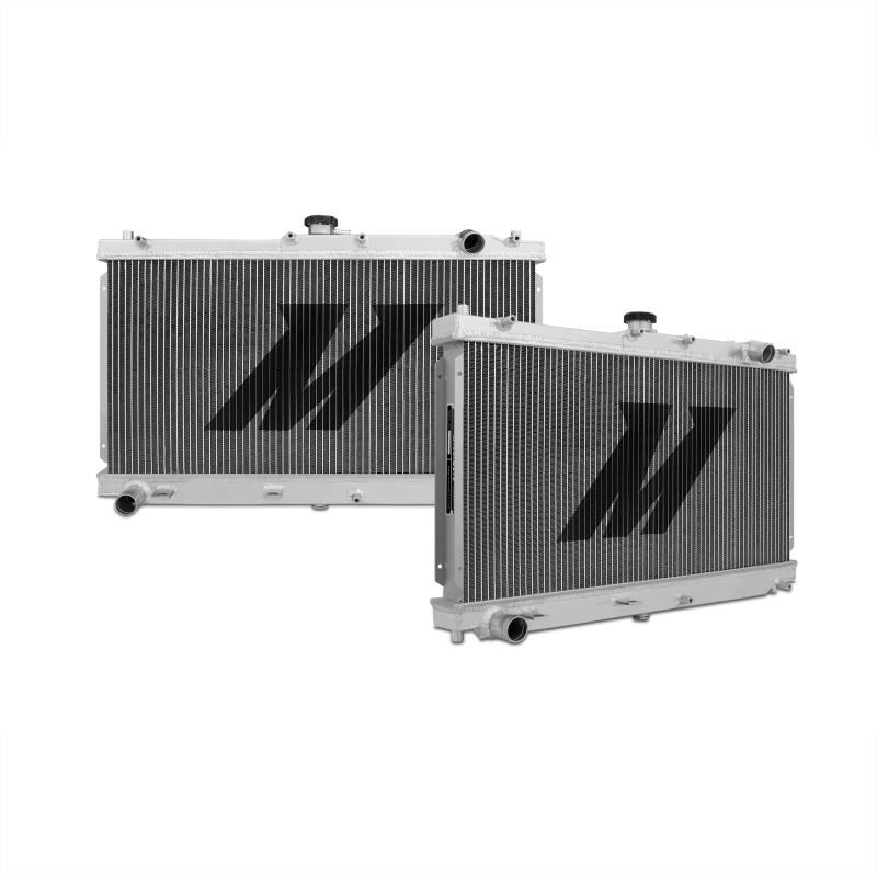 "Mishimoto 17.2"" x 26.2"" Single Pass 2-Row Race Aluminum Radiator"