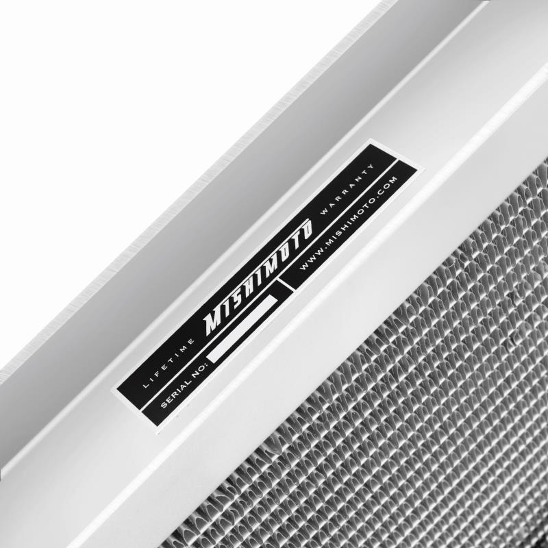 Ford Mustang Dual Pass Aluminum Racing Radiator, 1979-1993