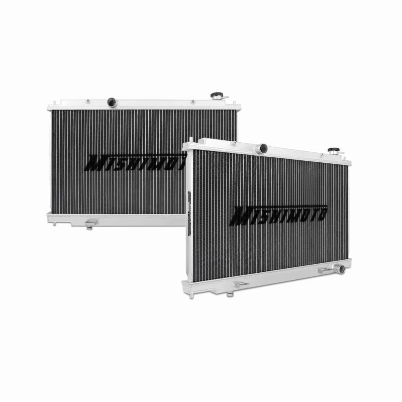 "Mishimoto 20.28"" x 29.69"" Single Pass 2-Row Race Aluminum Radiator"