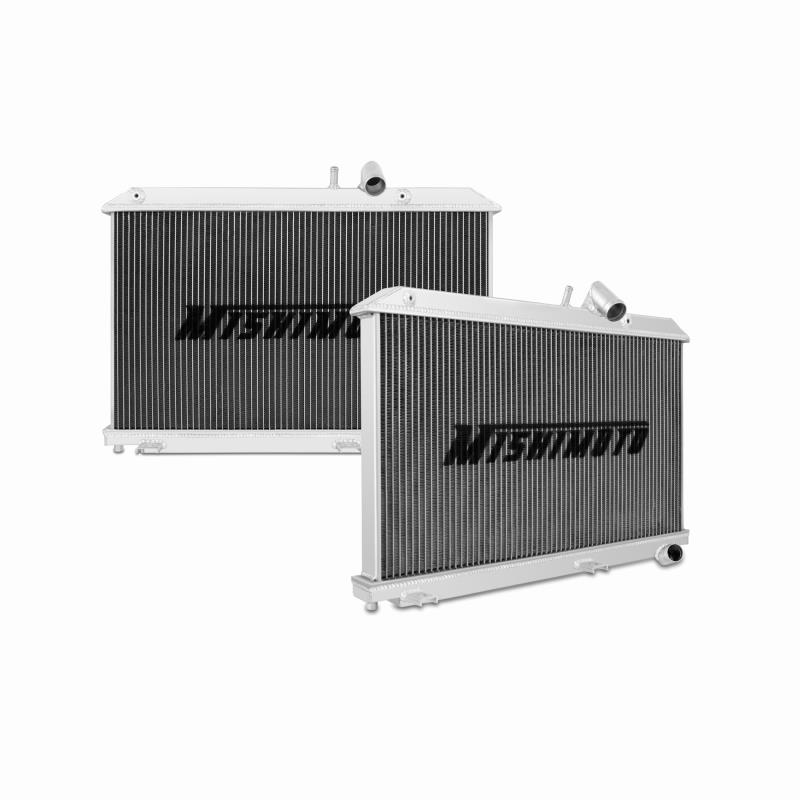 "Mishimoto 19.9"" x 26.4"" Single Pass 2-Row Race Aluminum Radiator"