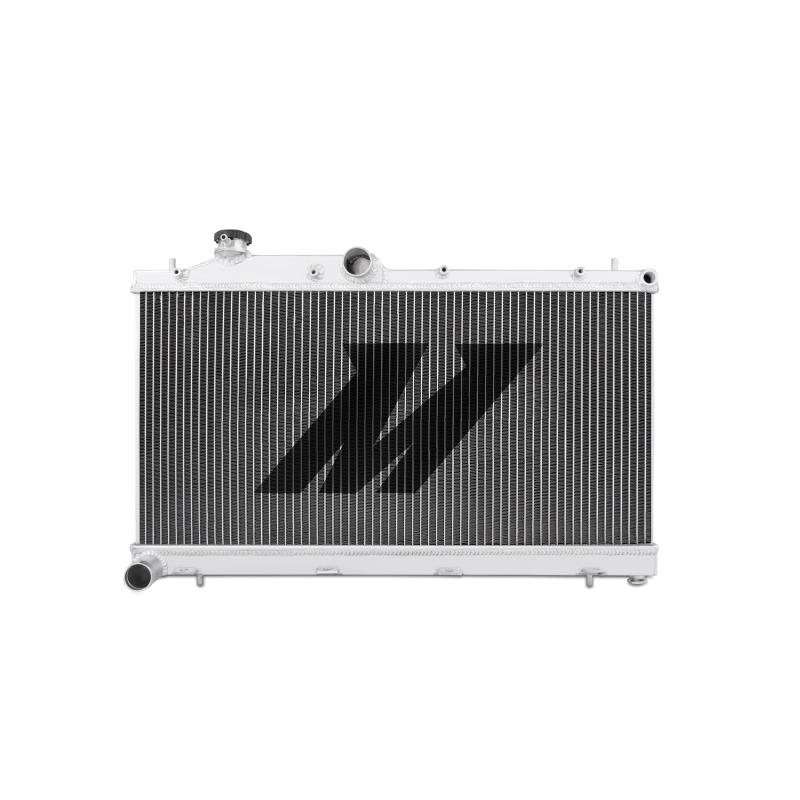"Mishimoto 21.8"" x 28.0"" Single Pass 2-Row Race Aluminum Radiator"