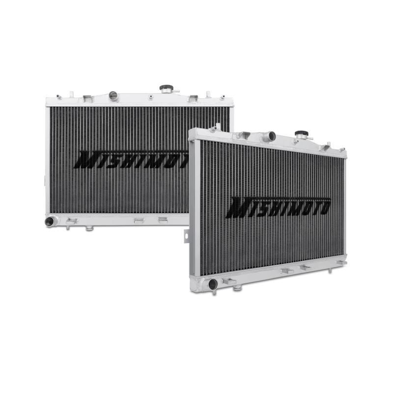 "Mishimoto 20.23"" x 27.79"" Single Pass 2-Row Race Aluminum Radiator"