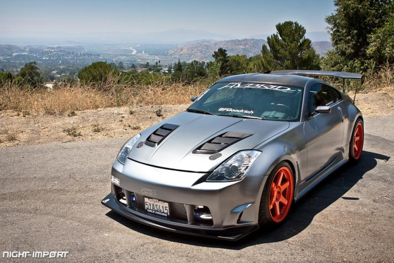 Team Hybrid 2006 Nissan 350Z Twin Turbo