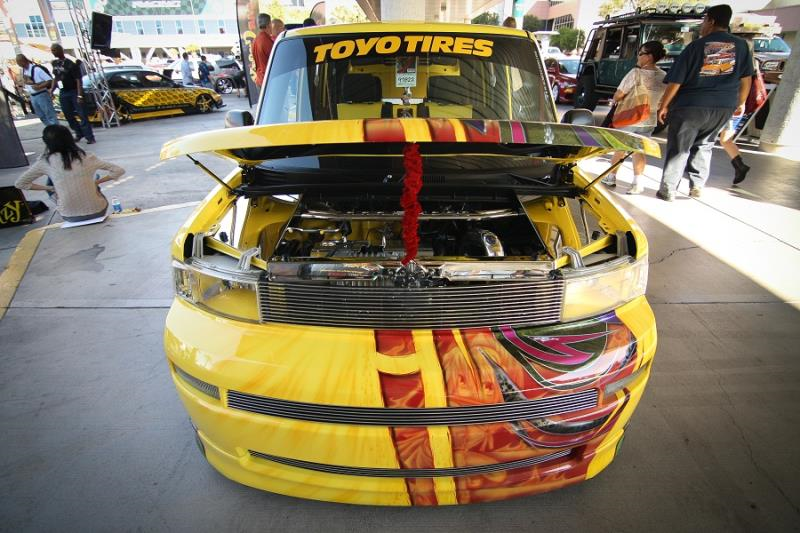 "SEMA 2011  - 2005 Scion XB ""Butters"""