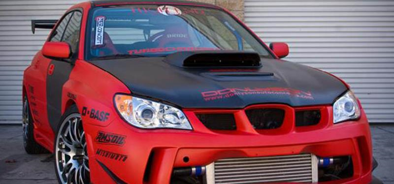 High End Performance Suburu Wrx Sti 2005