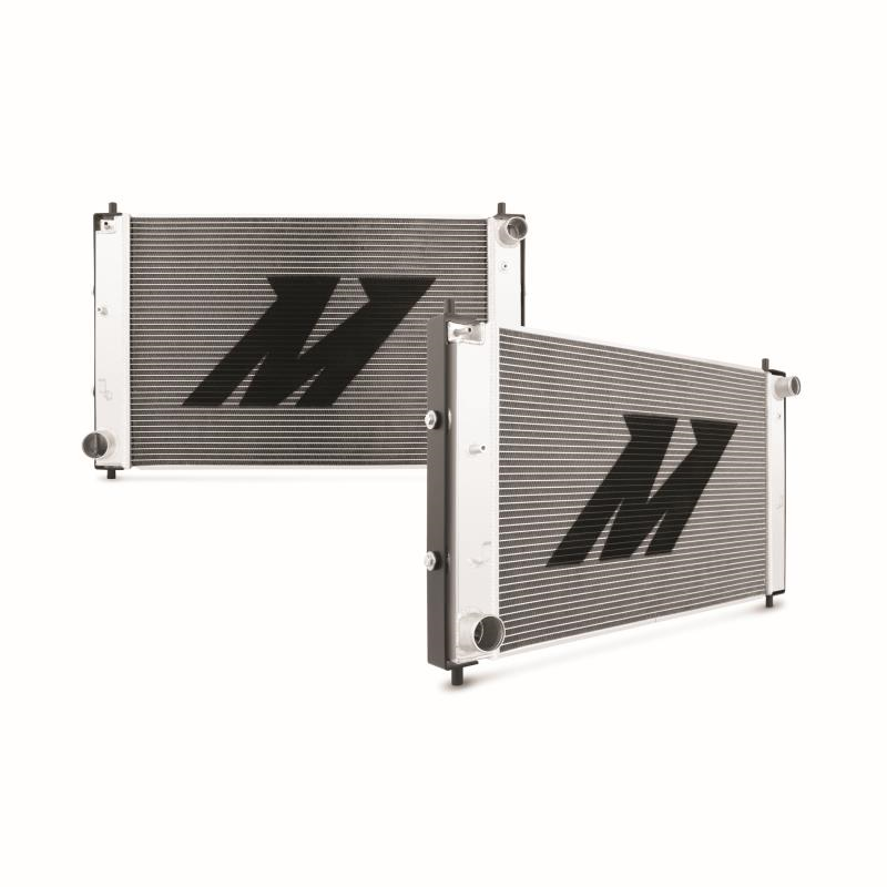 Performance Aluminum Radiator w/ Stabilizer System, fits Ford Mustang GT Manual, 1997–2004