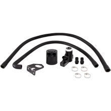 Baffled Oil Catch Can Kit, fits Ford 6.4L Powerstroke 2008–2010