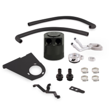 Baffled Oil Catch Can Kit, fits Ford 6.7L Powerstroke 2017+