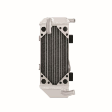 Honda CRF250R Braced Aluminum Dirt Bike Radiator, Left, 2010-2013