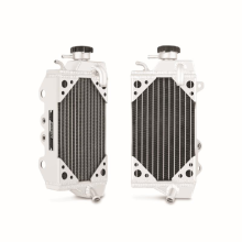 Kawasaki KX450F Braced Aluminum Dirt Bike Radiator, Right, 2010-2012