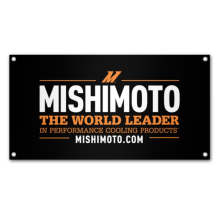Mishimoto Promotional World Leader Banner, Medium