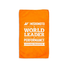 Mishimoto Microfiber Detailing Towel, Orange