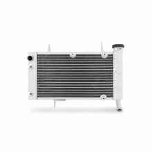 "Mishimoto 19.3"" x 28.2"" Single Pass 2-Row Race Aluminum Radiator"