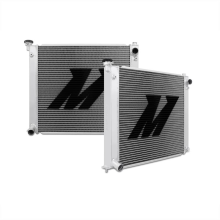 "Mishimoto 20.2"" x 27.2"" Single Pass 2-Row Race Aluminum Radiator"