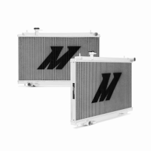 "Mishimoto 21.0"" x 29.7"" Single Pass 2-Row Race Aluminum Radiator"