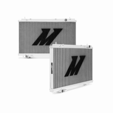 "Mishimoto 18.7"" x  29.4"" Single Pass 2-Row Race Aluminum Radiator"