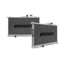 "Mishimoto 18.74 x 28.54"" Single Pass 2-Row Race Aluminum Radiator"