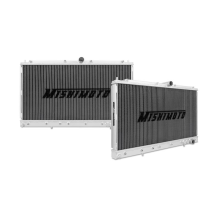 "Mishimoto 19"" x 29.1"" Single Pass 2-Row Race Aluminum Radiator"