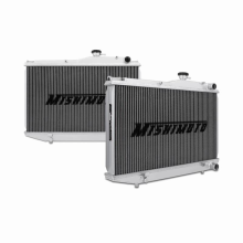 "Mishimoto 18.3"" x 23.2"" Single Pass 2-Row Race Aluminum Radiator"