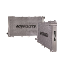 "Mishimoto 17.9"" x 30.86"" Single Pass 2-Row Race Aluminum Radiator"