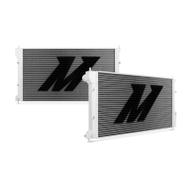 "Mishimoto 16.25"" x 30.13"" Single Pass 2-Row Race Aluminum Radiator"