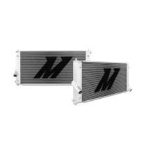 "Mishimoto 14.3"" x 30.8"" Single Pass 2-Row Race Aluminum Radiator"