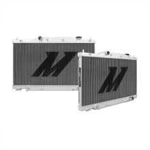 "Mishimoto 17.95"" × 26.93"" Single Pass 2-Row Race Aluminum Radiator"