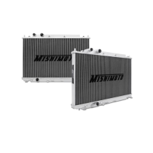"Mishimoto 18.2"" x 26.8"" Single Pass 2-Row Race Aluminum Radiator"