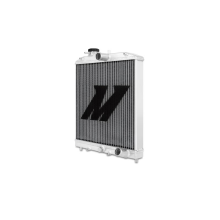 "Mishimoto 14.6"" x 18.5"" Single Pass 2-Row Race Aluminum Radiator"