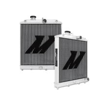 "Mishimoto 14.6"" x 18.5"" Single Pass 3-Row Race Aluminum Radiator"