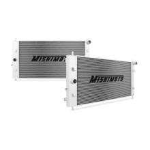 "Mishimoto 16.99"" x 33.07"" Single Pass 2-Row Race Aluminum Radiator"