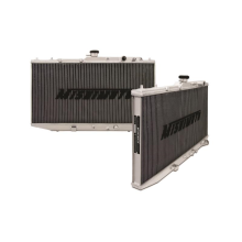 "Mishimoto 17.1"" x 27.2"" Single Pass 2-Row Race Aluminum Radiator"