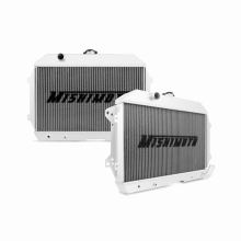 "Mishimoto 19.16"" x 27.30"" Single Pass 2-Row Race Aluminum Radiator"