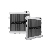 "Mishimoto 19.7"" x 19.9"" Single Pass 2-Row Race Aluminum Radiator"