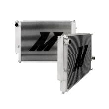 "Mishimoto 18.3"" x 26.3"" Single Pass 2-Row Race Aluminum Radiator"